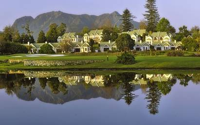 Fancourt Golf Estate in George, Garden Route, South Africa.